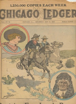 1916 Chicago Ledger - Fiction Weekly Newspaper Magazine