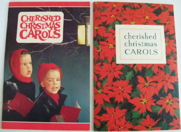 1963 Ohio Bell Telephone Advertising Christmas Carol Song Books