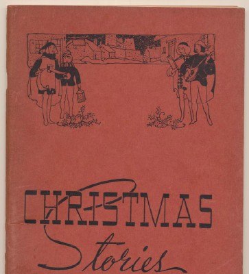 Vintage Charles Dickens Christmas Stories Book