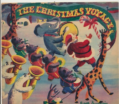 1947 Christmas Voyage Children's Book Department Store Premium