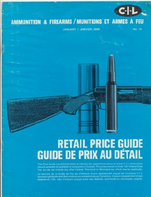 1968 CIL Canadian Industries Limited Ammunition Catalog