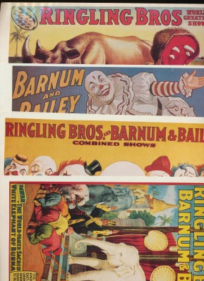 Ringling Bros/Barnum & Bailey Circus Poster Decals