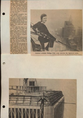 Harold Rupp Circus Scrapbook #3 - 43 Pgs - High Wire Aerialists
