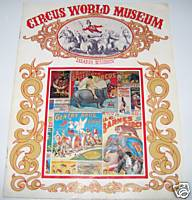 1971 Circus World Museum Baraboo WI Advertising Book