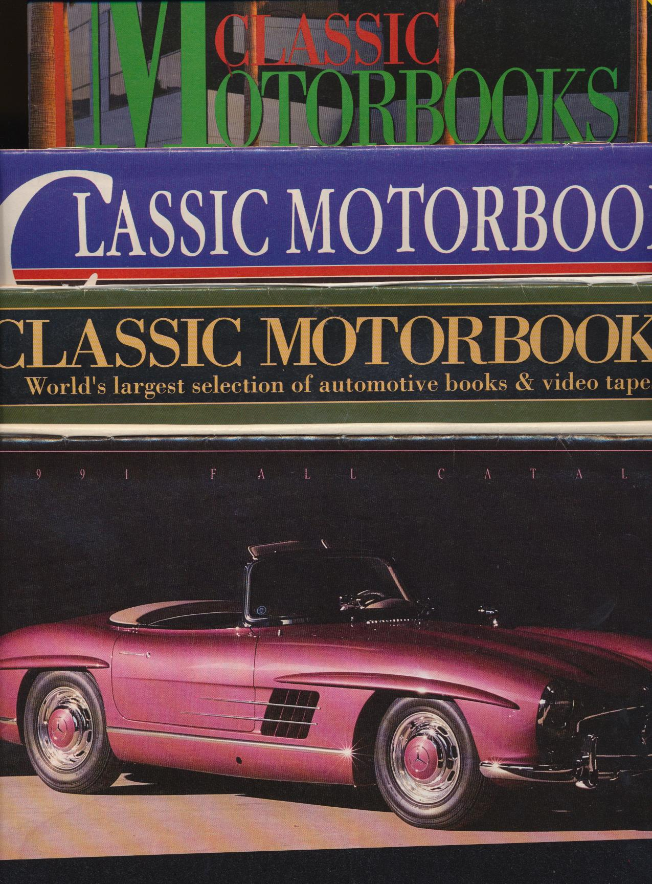 Lot Of Classic Motorbooks Catalogs - Car Books & Videotapes