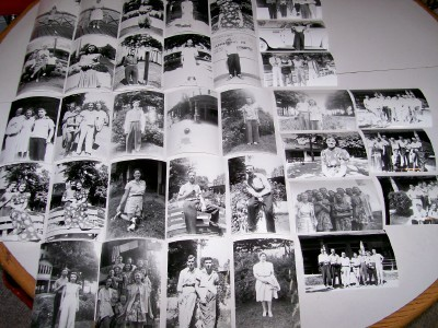 Vintage 1940s Conneaut Lake Park Photo Snapshot Lot Of 34