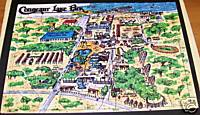 Conneaut Lake Park Jigsaw Puzzle Great Layout Of The Park Mint
