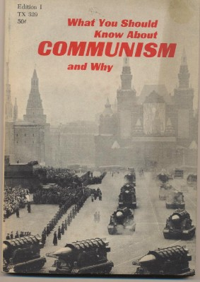 1964 What You Should Know About Communism Book - Cold War Lit