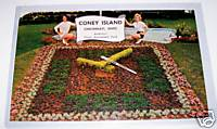 1950s-60s Coney Island Amusement Park Postcard Cincinnati Ohio