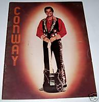 1960s Conway Twitty Fan Club Photo Booklet Autographed