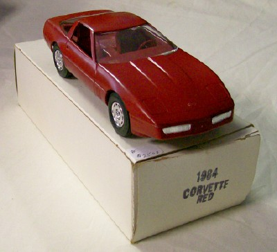 1984 Chevrolet Corvette Promo Car - Mint In Original Box