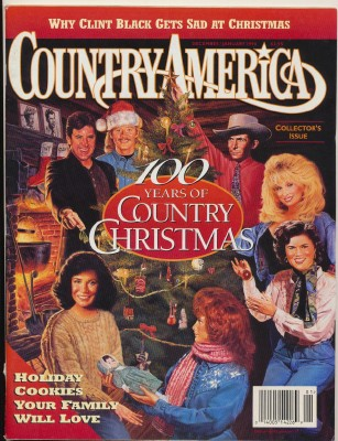 Country America Magazine - 1995 Christmas Collector's Issue