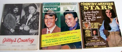 1970-83 Country Music Fan & Fan Club Magazine Lot