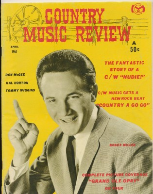 April 1965 Country Music Review--Grand Ole Opry Nudie The Tailor