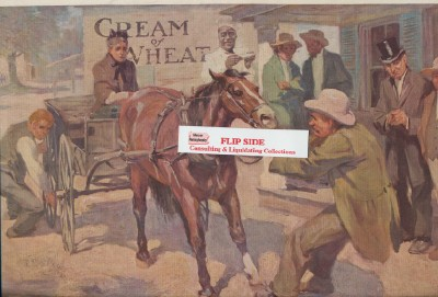1911 Cream Of Wheat Ad Painted By Fletcher C Ransom