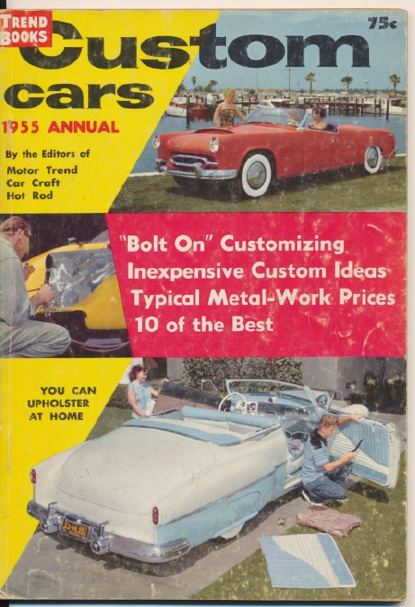 1955 Custom Cars Annual - By Motor Trend Car Craft Hot Rod
