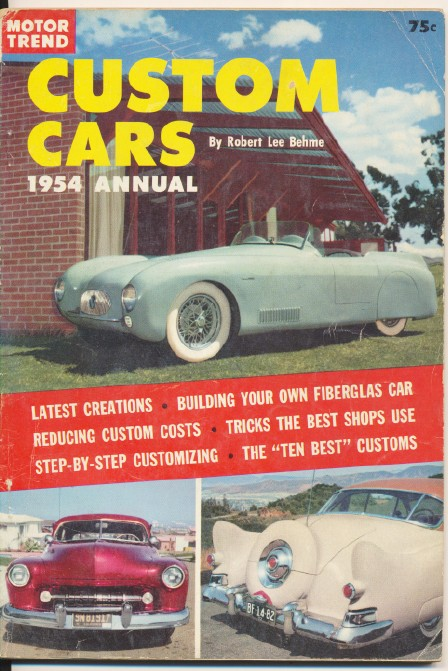 1954 Custom Cars Annual By Motor Trend