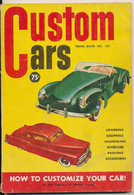 1951 Custom Car How-To Book - Chop Channel Lower ++