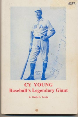 Cy Young Baseball Biography By Ralph H Romig - 1964