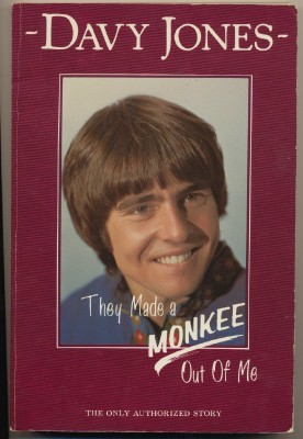 1987 Monkees Davy Jones Autobiography - Autographed
