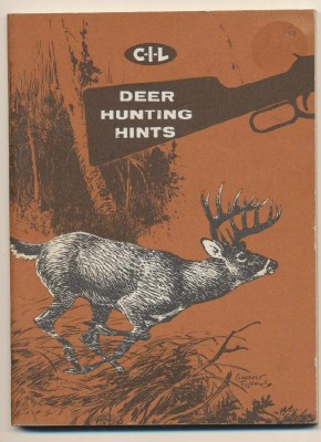 1961 CIL Ammo Deer Hunting Hints Advertising Booklet