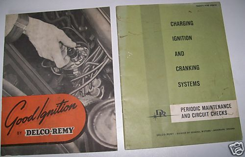 1950 & 1964 Delco-Remy Auto Ignition Maintenance Manuals