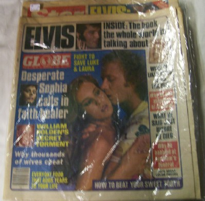1981 Globe & Star Magazines - Elvis Cover Features