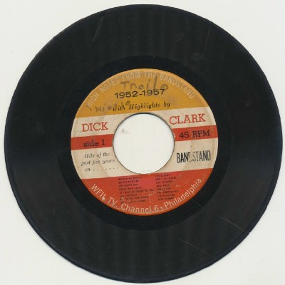 1952-57 Dick Clark Highlights From The Bandstand - Rare 45