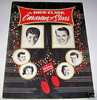 1961 Dick Clark Caravan Of Stars Rock & Roll Show Program