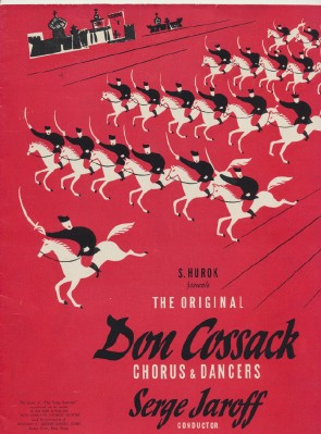 1940s-50s Program - Don Cossack Russian Chorus & Dancers