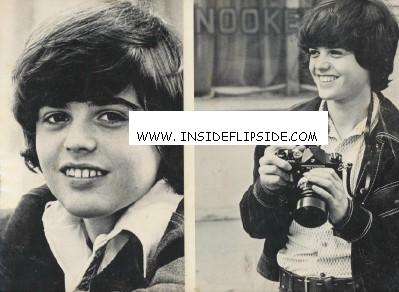 Two Early Photos Of Donny Osmond