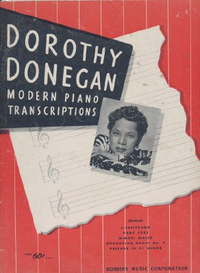 Vintage 1945 Dorothy Donegan Piano Sheet Music Song Book