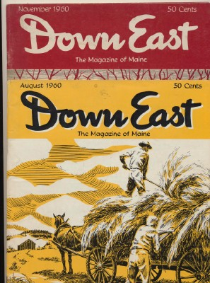 1960 Down East Maine Tourist Magazines