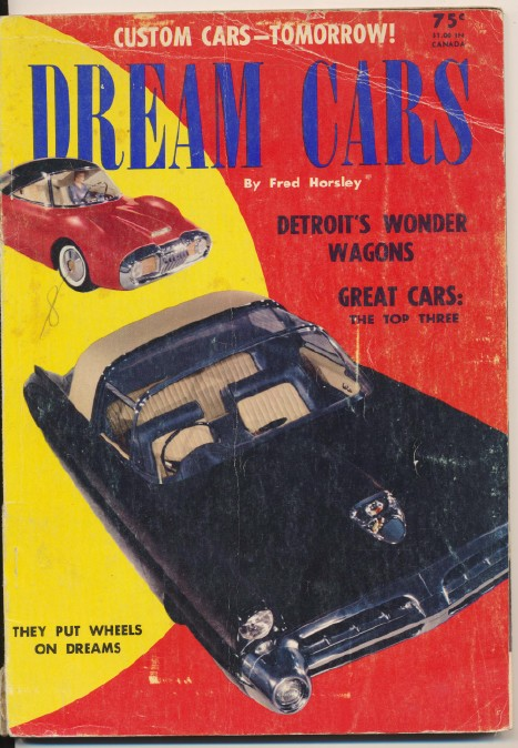 1953 Dream Cars By Fred Horsley - Customs & Concepts
