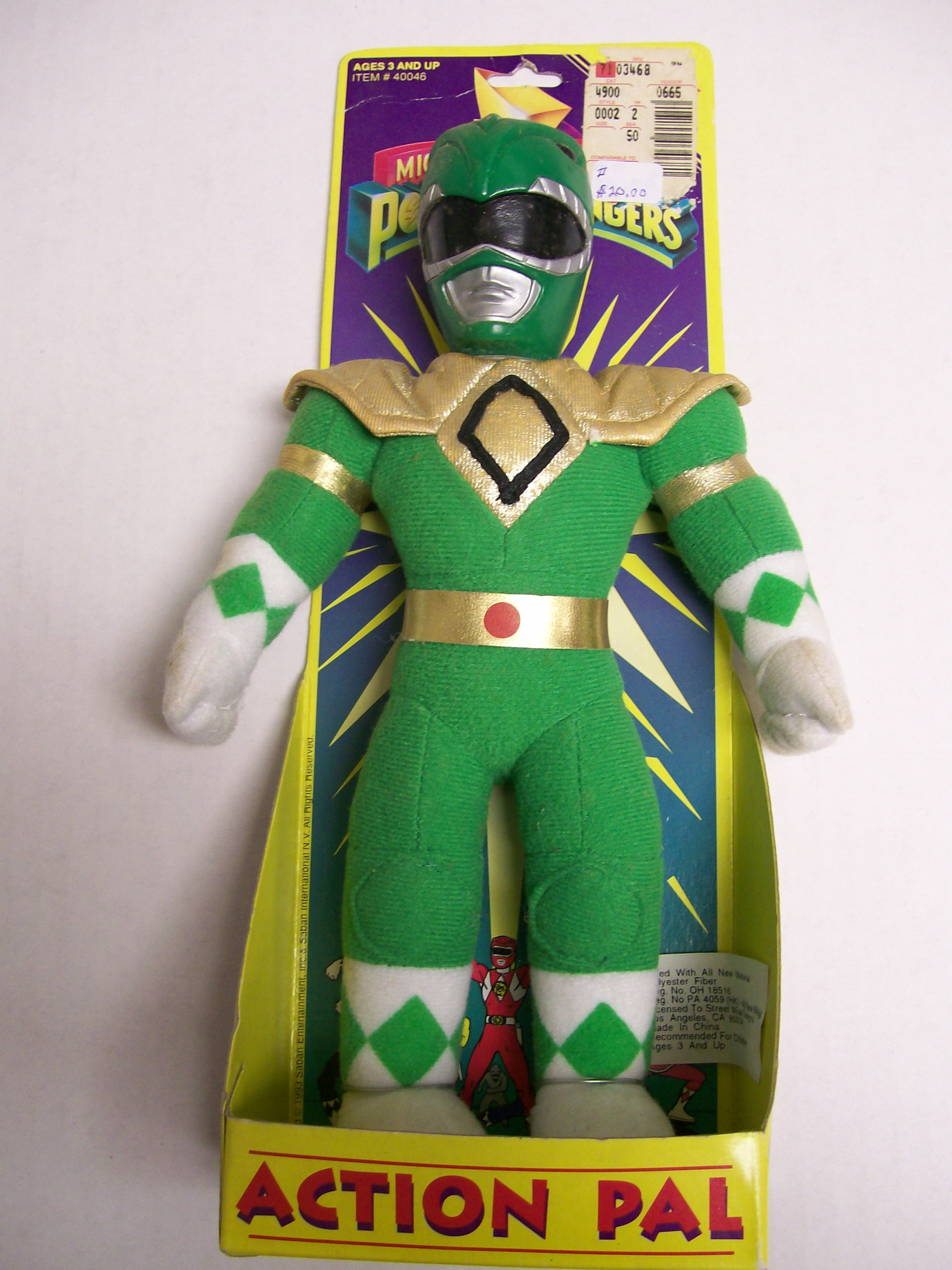 Mighty Morphin Power Rangers Action Pal