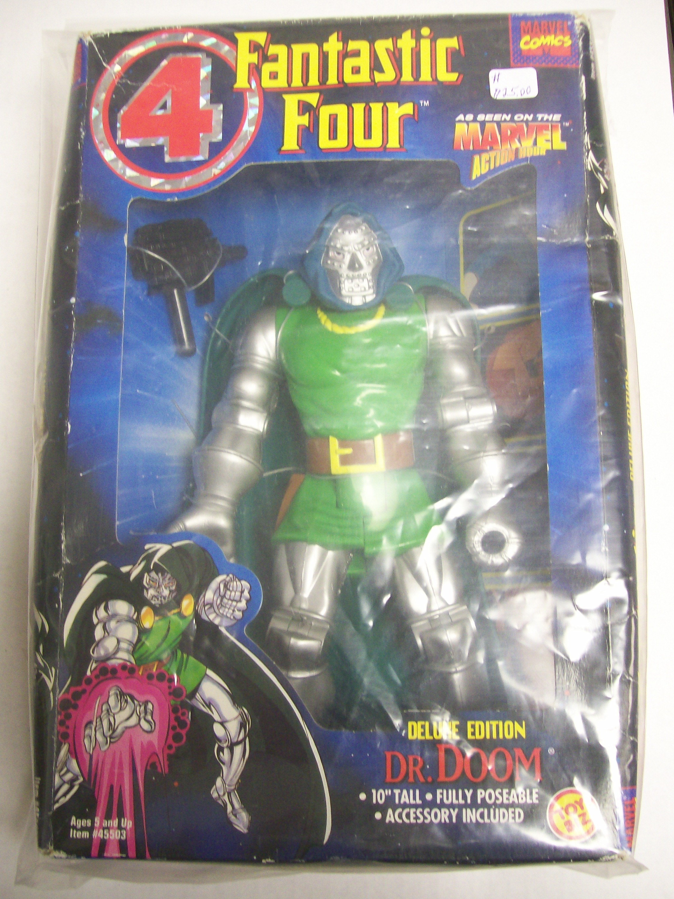 Marvel Comics Fantastic Four Dr. Doom, Deluxe Edition