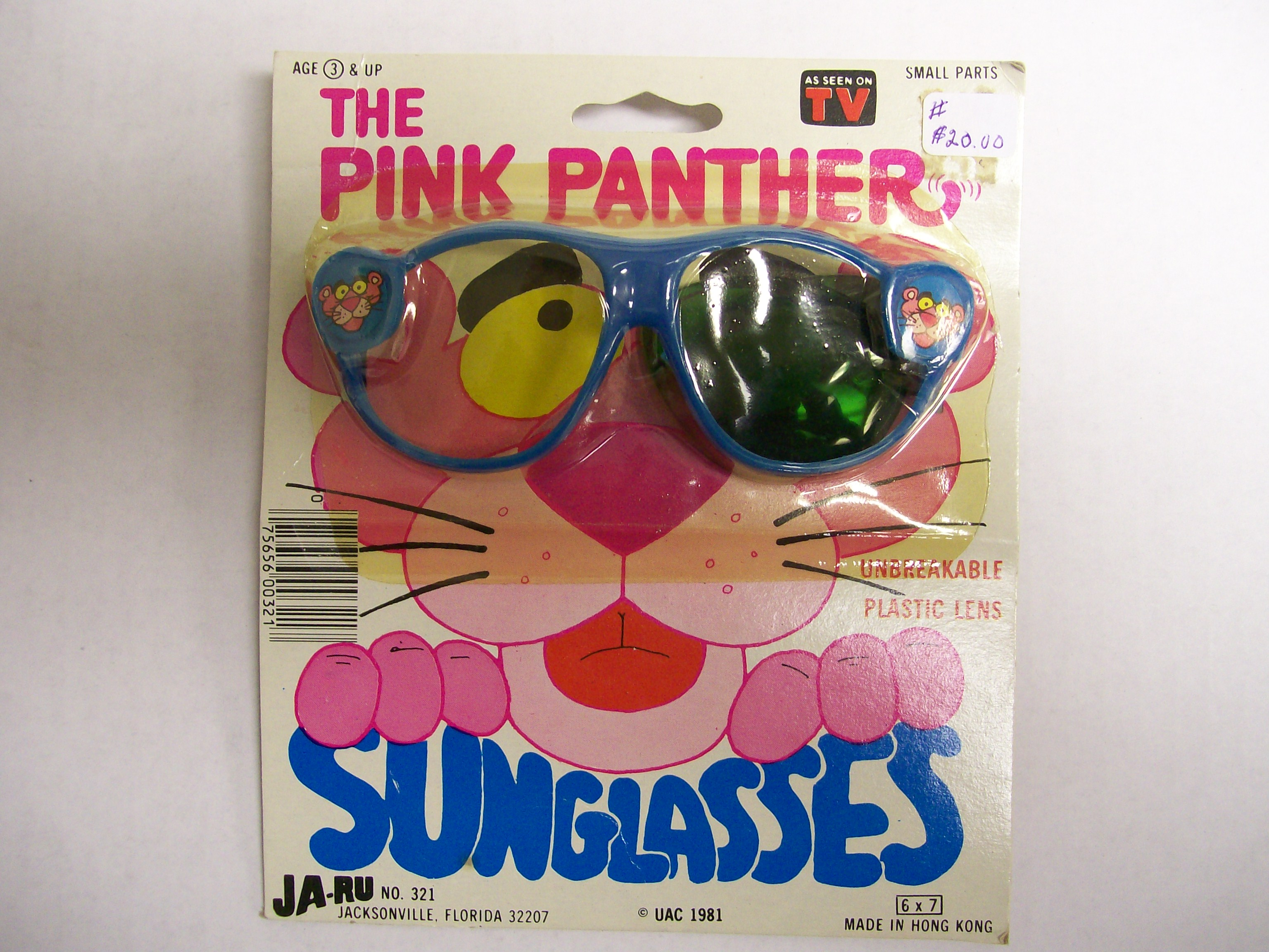 Pink Panther Sunglasses - Ja-Ru