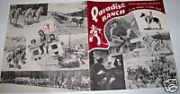 1930s-40s Colorado Paradise Dude Ranch Advertising Book