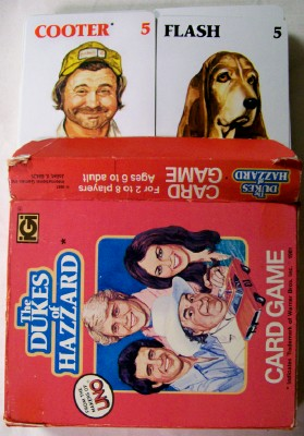1981 Dukes Of Hazzard Boxed Card Game By UNO