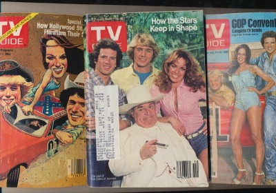 Lot Of 3 1980s Dukes Of Hazzard TV Guide Cover Features