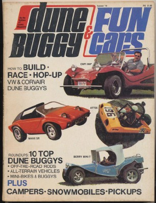 Summer 1970 Dune Buggy & Fun Cars - Snowmobile - Off Road