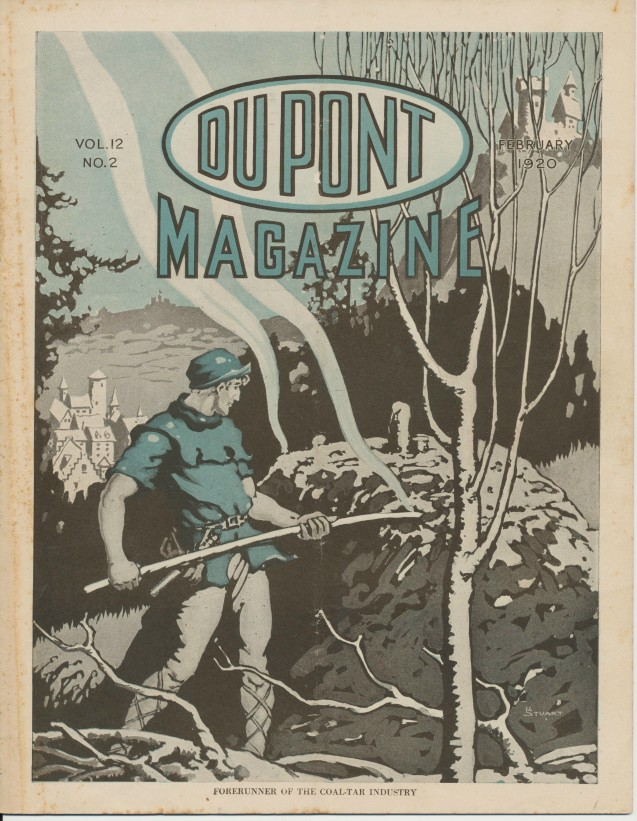 1920 Dupont Magazine--Advertises Mining Ammo Plastics