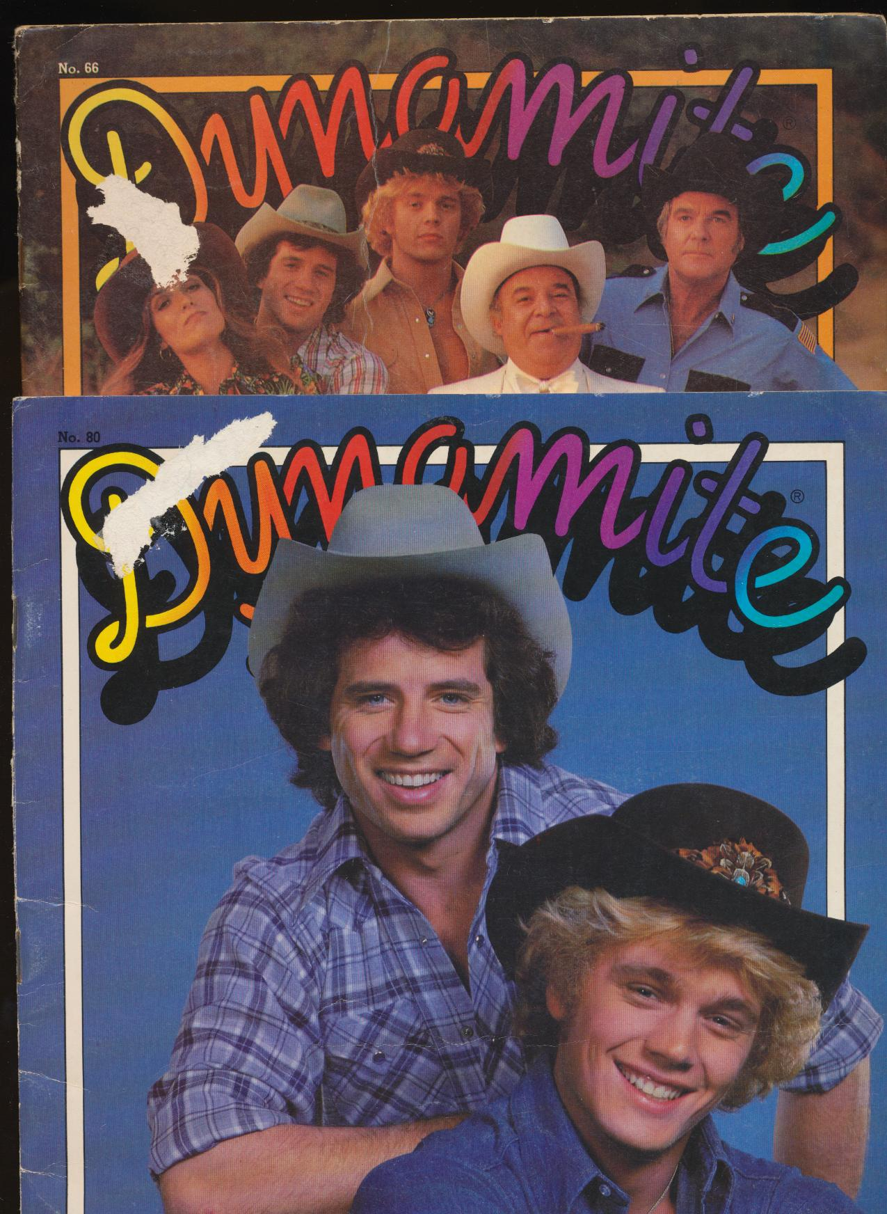 1979-81 Dynamite Magazines - Dukes Of Hazzard Cover Features