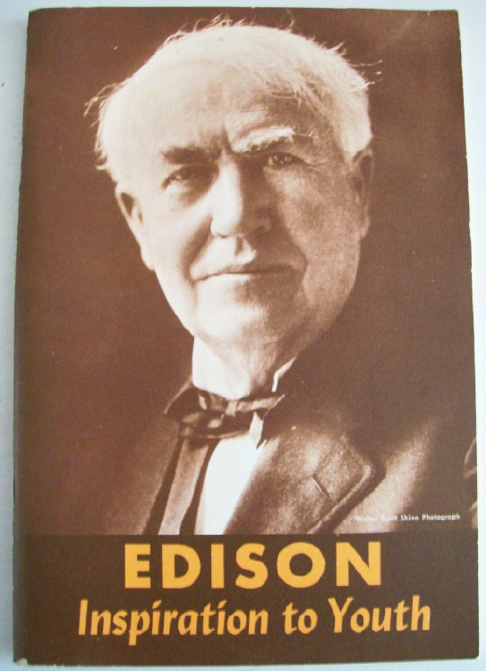 Thomas Edison Biography From The 1927 Newspaper Serial