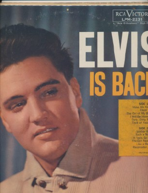 Elvis Is Back - Elvis Presley - RCA Victor #LPM-2231