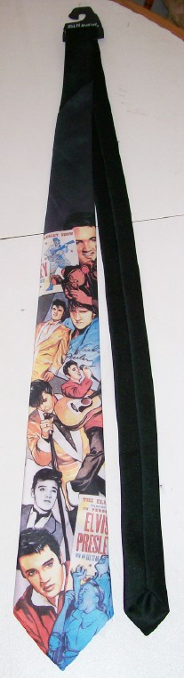 Vintage Elvis Presley Neck Tie By Ralph Marlin - New With Tag