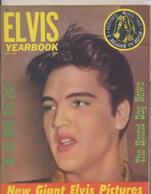 Vintage 1960 Movie Teen's Elvis Yearbook - Great Pics