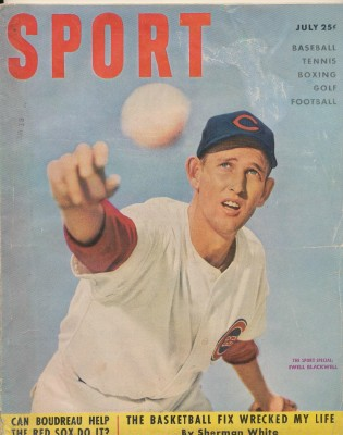 July 1951 Sport Magazine - Ewell Blackwell Cover