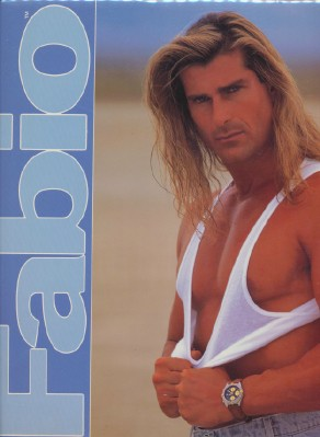 1993 Fabio Calendar - Mint Sealed