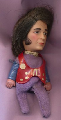 1970 Remco Monkees Micky Dolenz Finger Puppet Doll - Click Image to Close